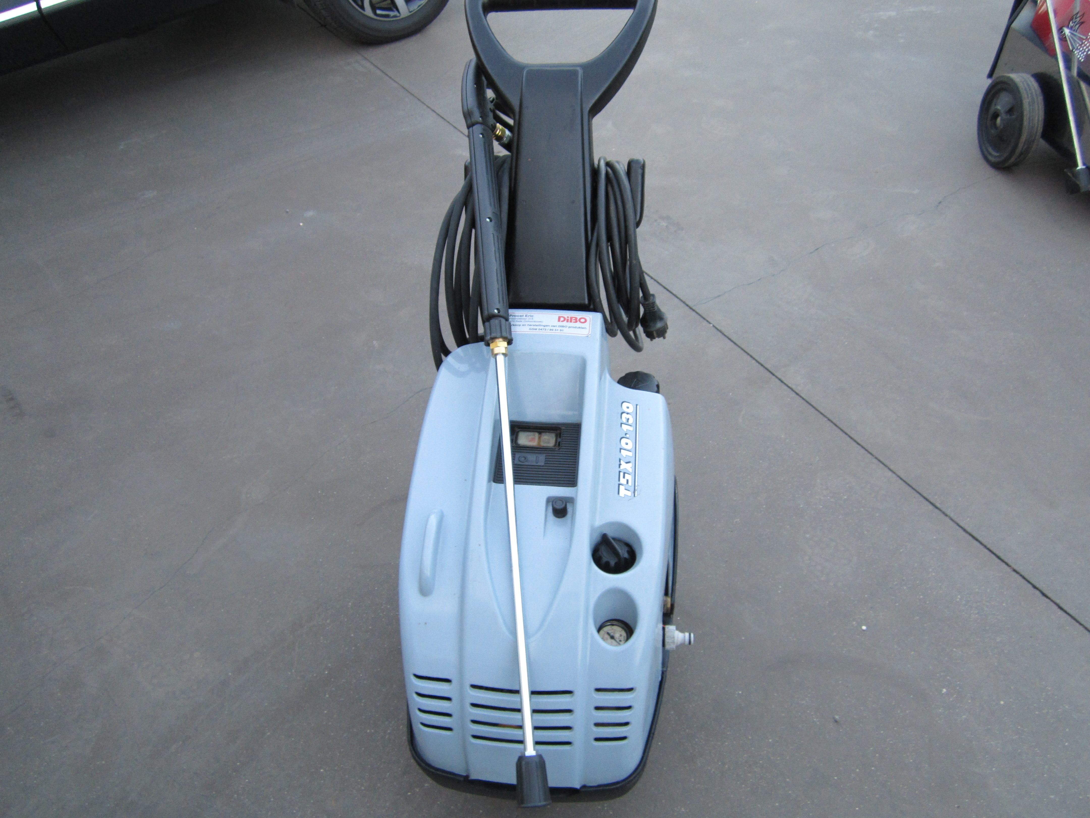 Dibo Hogedrukreiniger Ecn M 200 Bar 25 Liter Min Pro Press